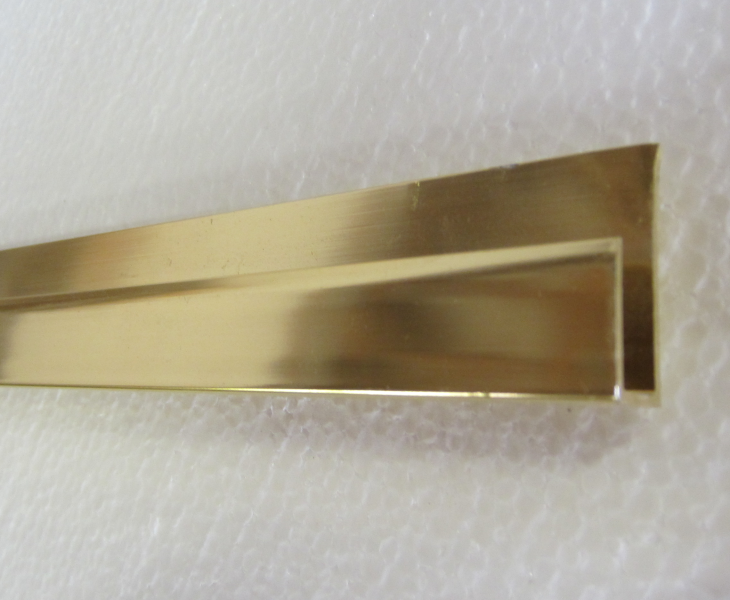 Annodized Aluminum Extrusions for mirror installations